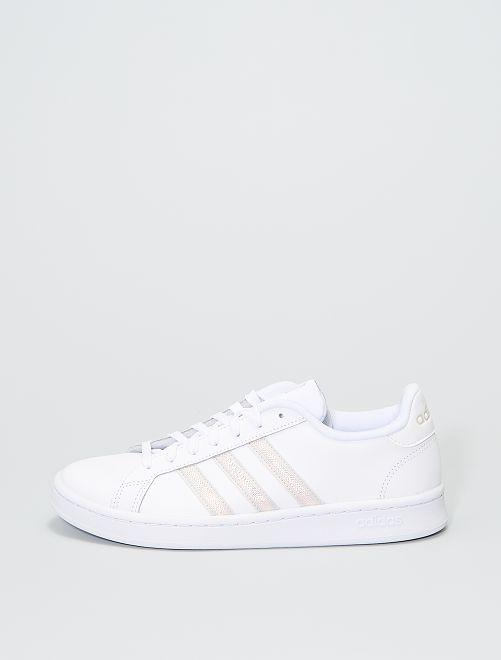 Baskets 'adidas grand court'                             blanc