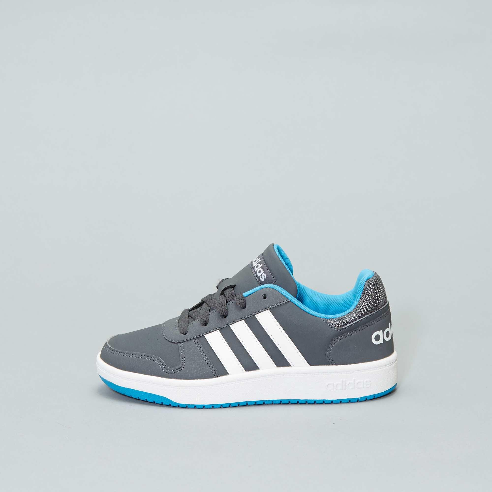 2c2b4511f7047 Baskets  Adidas Hoops 2 0 K  Garçon adolescent - gris - Kiabi - 40