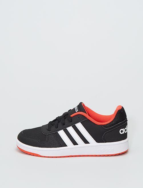 Baskets 'adidas Hoops 2.0 K'                             noir/orange