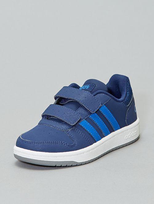 Baskets 'adidas hoops' basses                                                     bleu