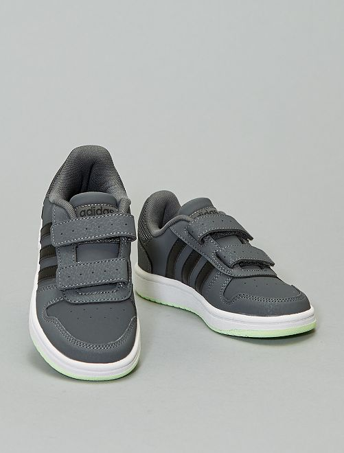 Baskets 'adidas hoops' basses                                         gris
