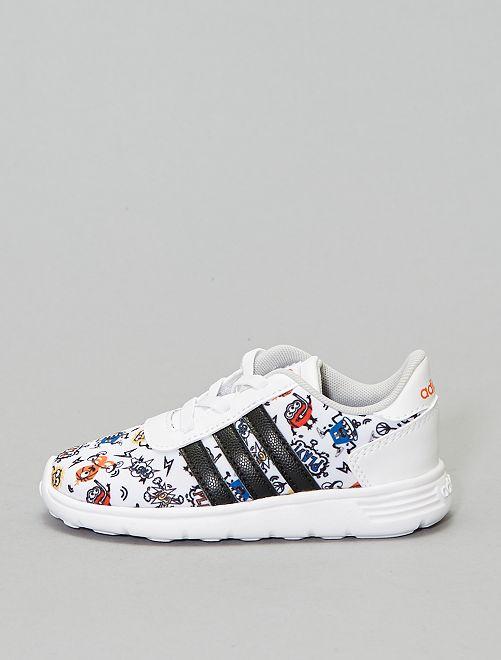 Baskets 'adidas lite racer' imprimées                             blanc Chaussures