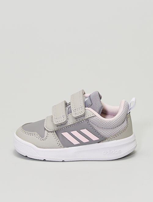Baskets 'adidas Tensaur I' à scratchs                             gris/rose