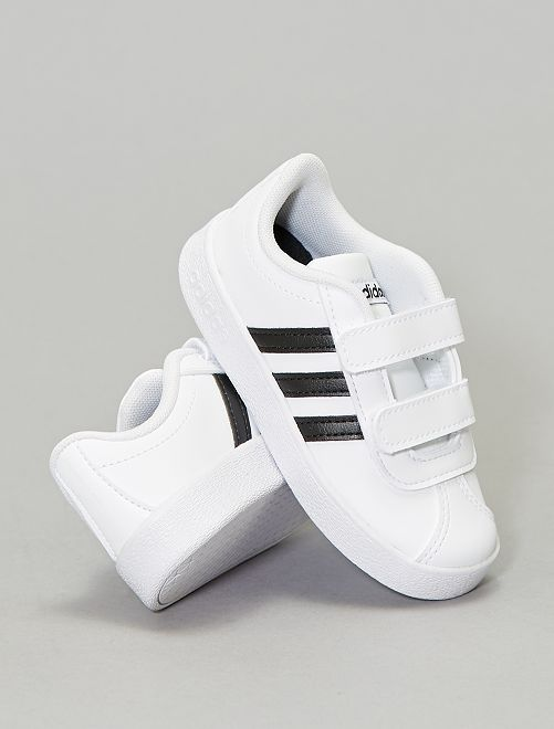 Baskets 'adidas VL Court 2.0'                                         blanc Bébé garçon