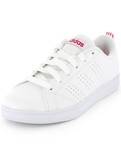 Baskets 'Adidas' 'VS ADVANTAGE CL K'                             blanc Fille adolescente