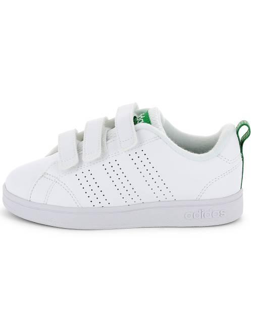 huge selection of a61b3 87fa9 ... Baskets Adidas VS Advantage Clean à scratchs vue ...