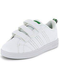 Chaussures, chaussons - Baskets 'Adidas VS Advantage Clean' à scratchs - Kiabi