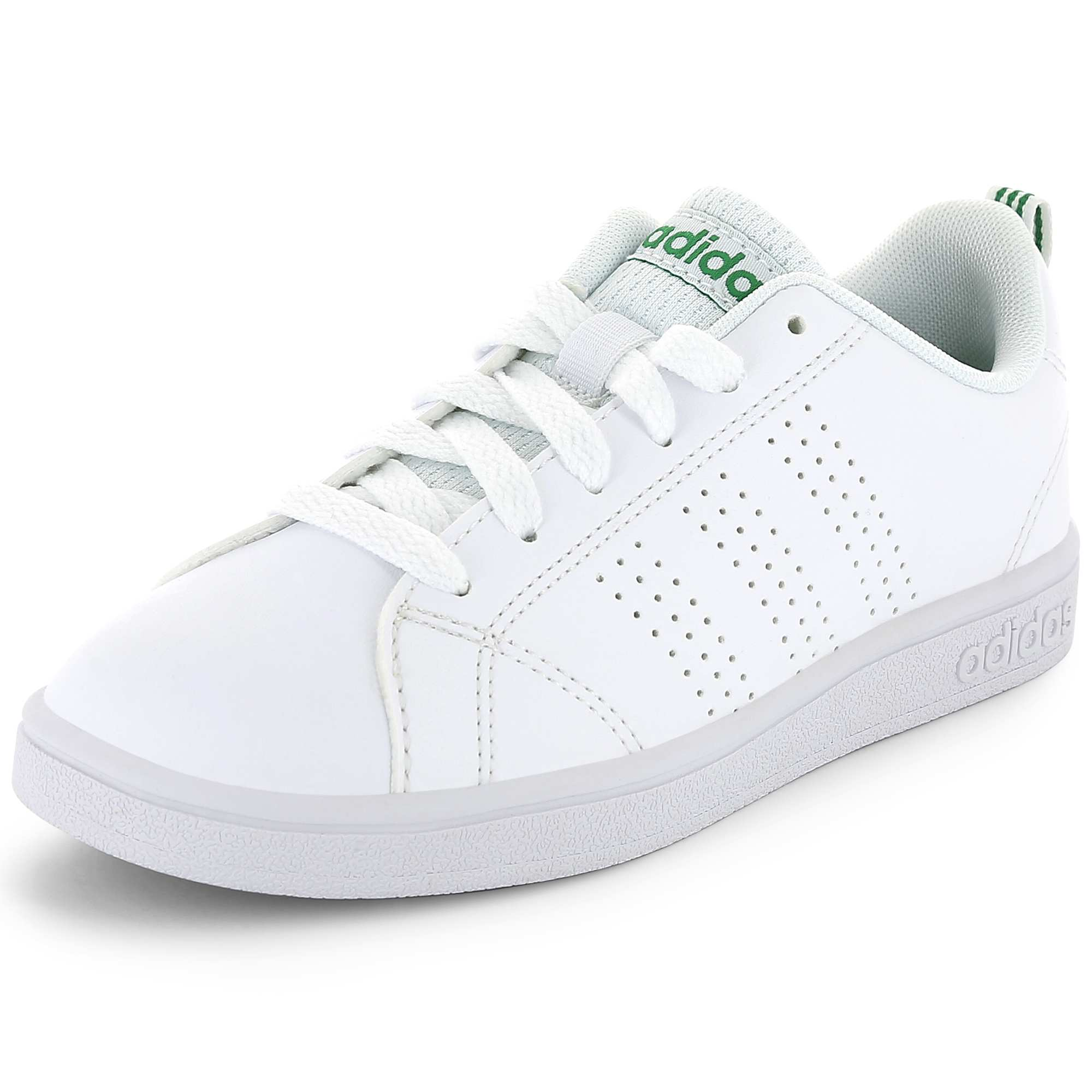 79c283037 Baskets 'Adidas Vs Advantage Clean' blanc Garçon adolescent. Loading zoom