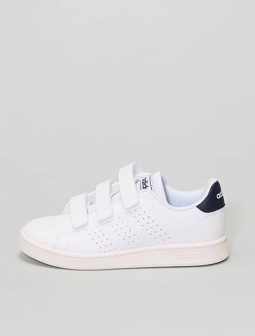 Baskets 'advantage' 'adidas'                             blanc