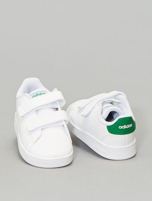 Baskets 'Advantage adidas'                                         blanc/vert Chaussures