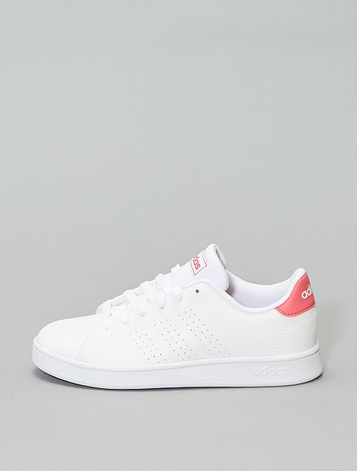Baskets 'Advantage K' de 'adidas'                             blanc/rose Fille
