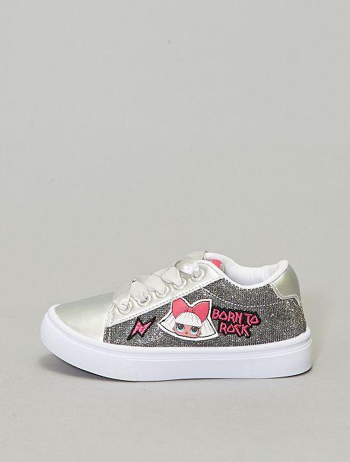 Baskets argentées 'LOL Surprise'                             gris argent Chaussures