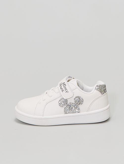 Baskets basse 'Mickey'                             blanc