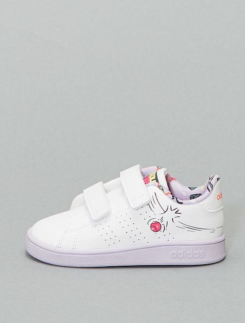 Baskets basses 'Adidas'                             blanc