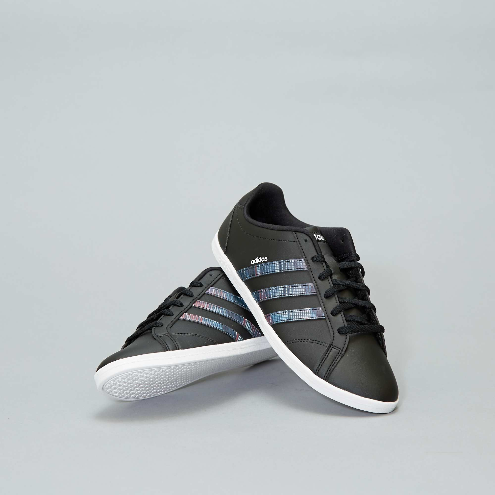 5104348b41a92b Baskets basses 'Adidas' 'Coneo QT' Femme - NOIR - Kiabi - 33,00€