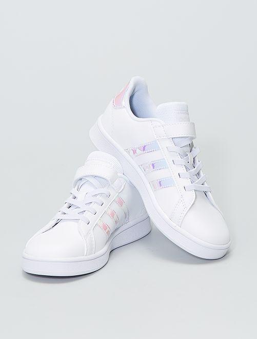 Baskets basses 'Adidas GRAND COURT C'                             blanc