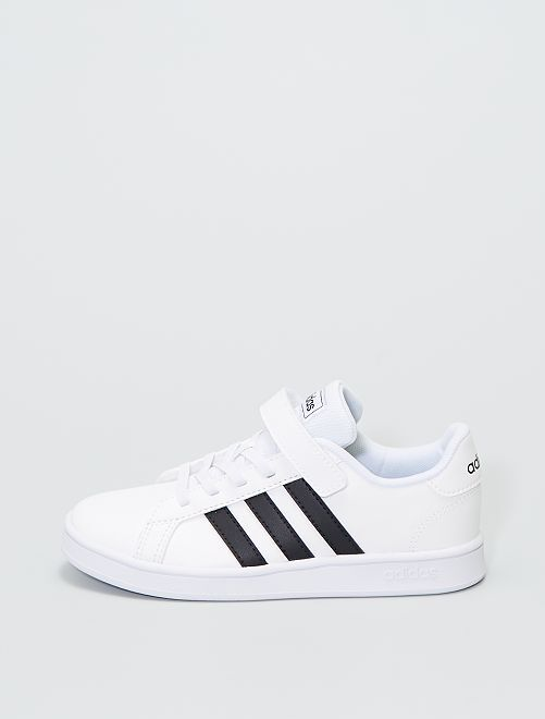 Baskets basses 'Adidas GRAND COURT C'                             blanc