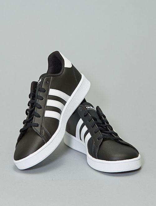 Baskets basses 'Adidas GRAND COURT K'                                         noir