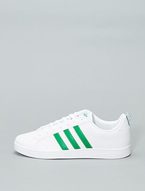 Baskets basses 'adidas VS Advantage'                                         blanc/vert Homme