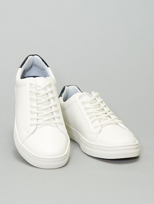Baskets basses                             blanc