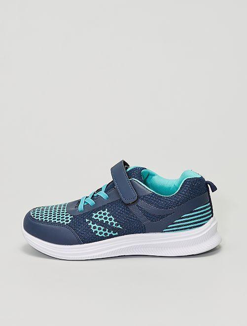 Baskets basses                             bleu