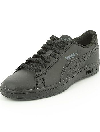 Baskets basses en simili `Puma`