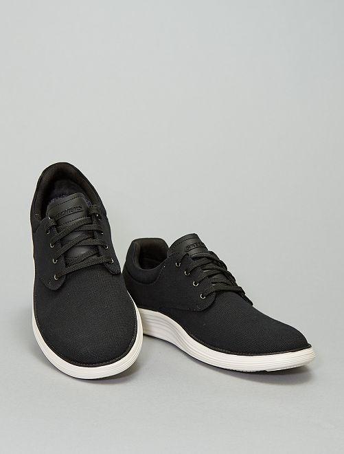 Baskets basses en textile 'Skechers'                             noir