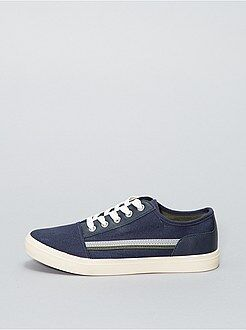 Chaussures, chaussons - Baskets basses en tissus - Kiabi