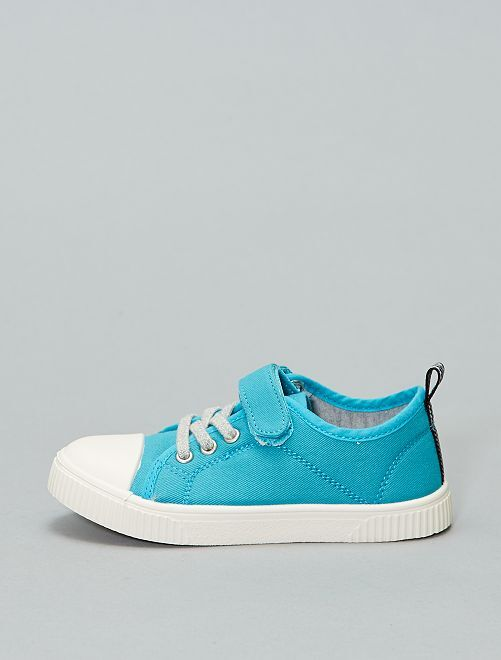 Baskets basses en toile                                                     turquoise Chaussures
