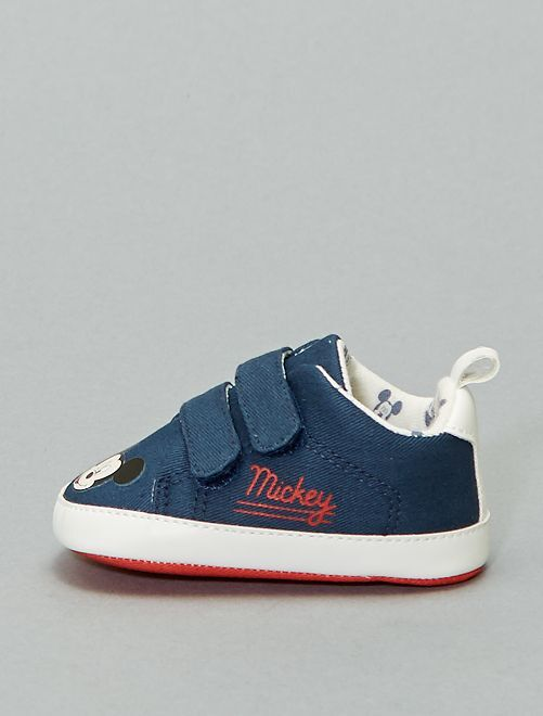 Baskets basses 'Mickey'                             bleu