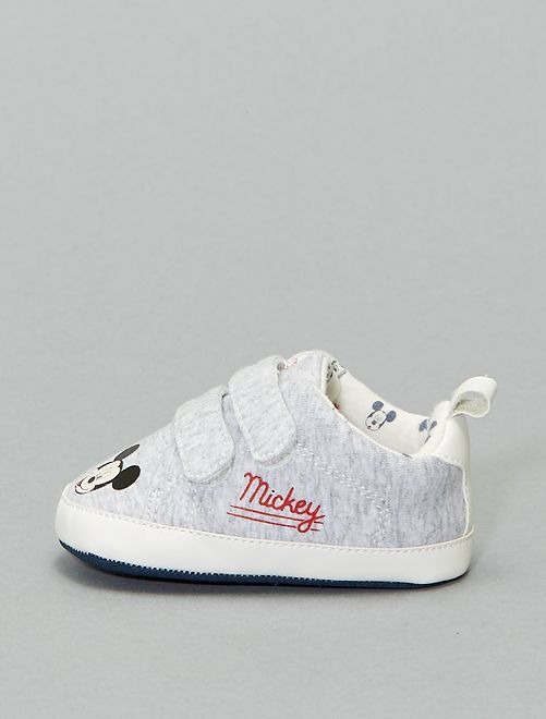 Baskets basses 'Mickey'                                         gris