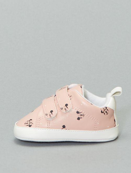 Baskets basses 'Minnie'                                         rose