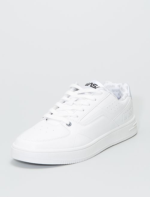 Baskets basses 'NASA'                             blanc
