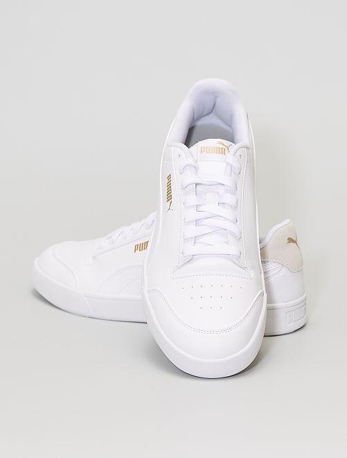 Baskets basses 'Puma'                             blanc