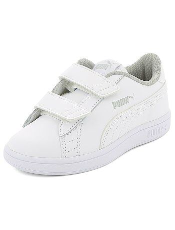 Baskets basses simili `Puma`