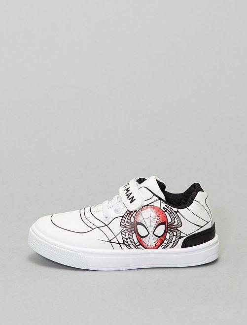 Baskets basses 'Spider-Man' 'Marvel'                             blanc