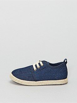 Chaussures, chaussons - Baskets basses style espadrilles - Kiabi