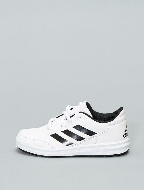 Baskets bicolores 'Adidas'                             blanc