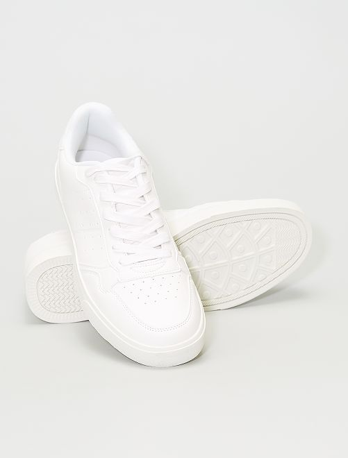 Baskets blanches                             blanc