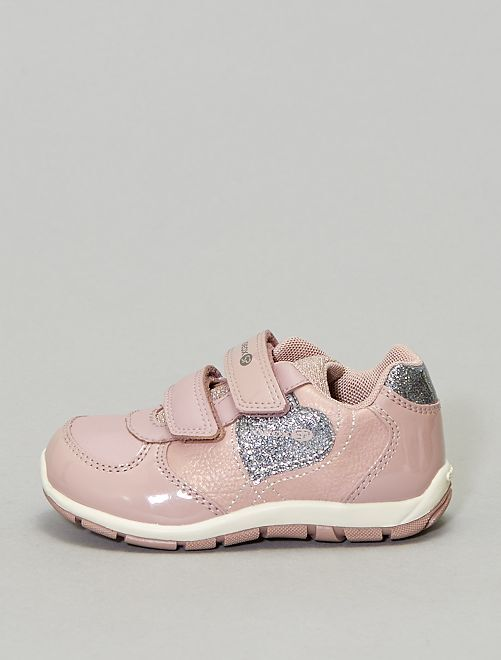 Baskets brillante 'Heira Geox'                             rose Chaussures