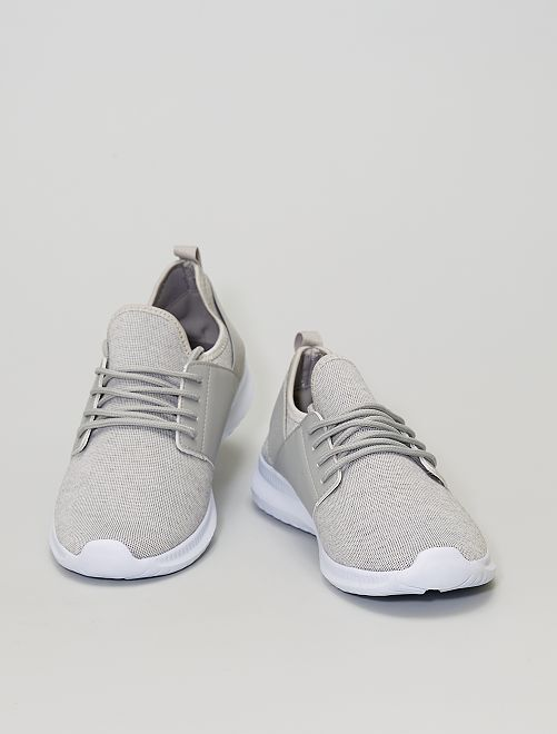 Baskets chaussons                             gris