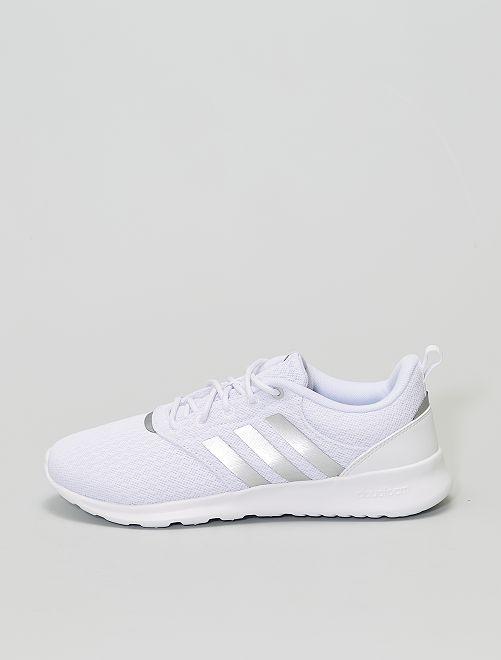 Baskets de running 'adidas QT Racer 2.0'                             blanc