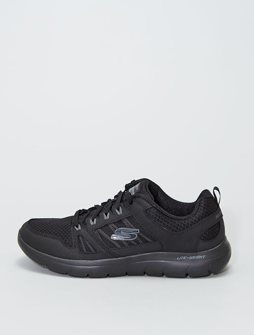 Baskets de sport 'skechers lite-weight'                             noir