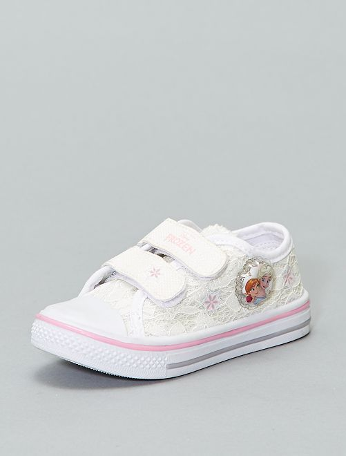 Baskets 'Disney Princess' de 'Disney'                             blanc Fille