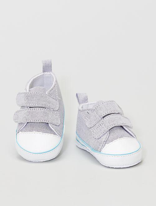 Baskets en coton                                         gris