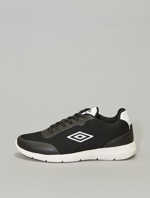Baskets en mesh 'Umbro'                             noir