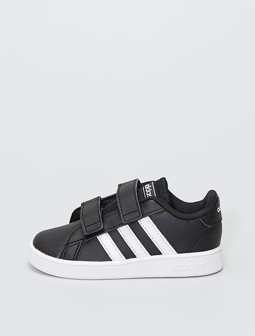 Baskets en simili 'adidas grand court 1'                             noir