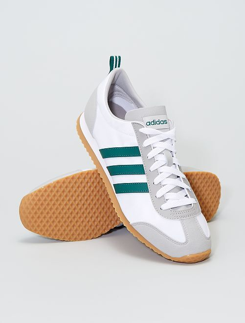 Baskets en simili 'adidas VS JOG'                             BLANC