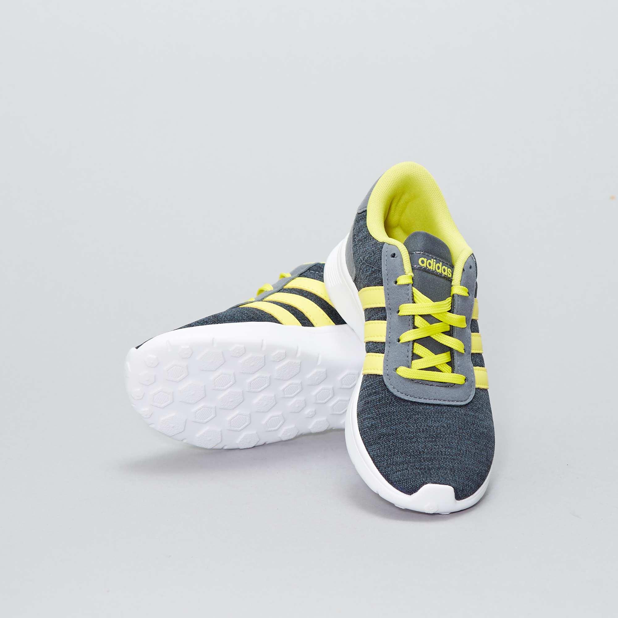 Lite 'adidas Racer' Baskets Garçon Gris Adolescent Textile En y7gf6b
