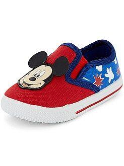 Baskets en textile 'Mickey Mouse' de 'Disney' - Kiabi